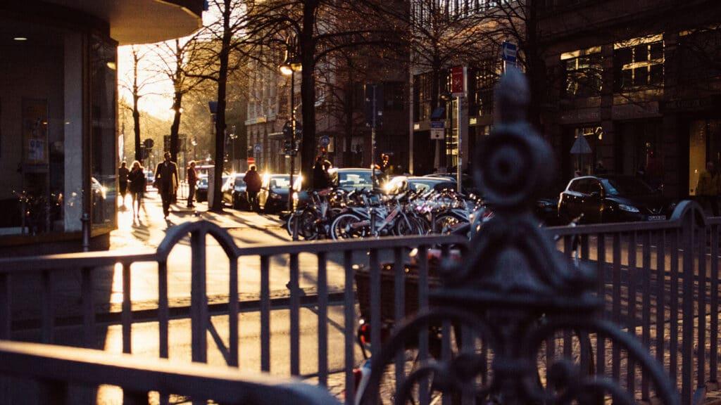 Ulica w berlinie